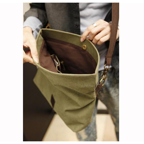 斜めがけ メンズ ショルダーバッグ メッセンジャーバッグ 口折れ バック かばん ポシェット 斜め掛け 2Wayバッグ 鞄|otasukemann|15