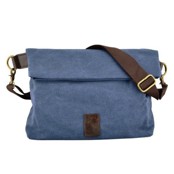 斜めがけ メンズ ショルダーバッグ メッセンジャーバッグ 口折れ バック かばん ポシェット 斜め掛け 2Wayバッグ 鞄|otasukemann|17