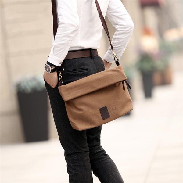 斜めがけ メンズ ショルダーバッグ メッセンジャーバッグ 口折れ バック かばん ポシェット 斜め掛け 2Wayバッグ 鞄|otasukemann|03