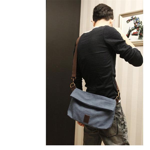 斜めがけ メンズ ショルダーバッグ メッセンジャーバッグ 口折れ バック かばん ポシェット 斜め掛け 2Wayバッグ 鞄|otasukemann|06