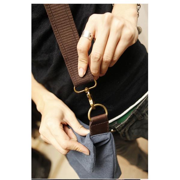 斜めがけ メンズ ショルダーバッグ メッセンジャーバッグ 口折れ バック かばん ポシェット 斜め掛け 2Wayバッグ 鞄|otasukemann|08
