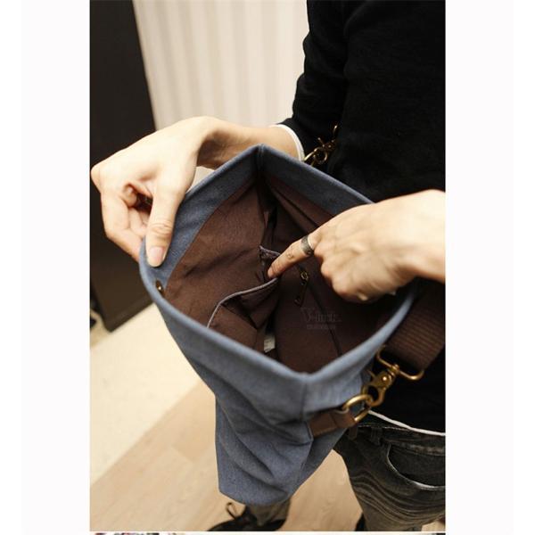 斜めがけ メンズ ショルダーバッグ メッセンジャーバッグ 口折れ バック かばん ポシェット 斜め掛け 2Wayバッグ 鞄|otasukemann|10