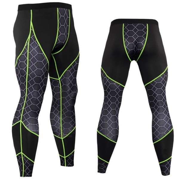 スポーツパンツ メンズ ボトムス ヨガウェア レーシングタイツ コンプレッションウェア 加圧パンツ トレーニングウェア 速乾 吸汗 otasukemann 15