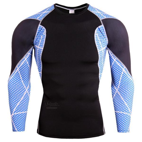 レーシングシャツ 加圧シャツ メンズ 加圧インナー コンプレッションウェア インナーシャツ アンダーシャツ ジャージ 速乾吸汗 otasukemann 12