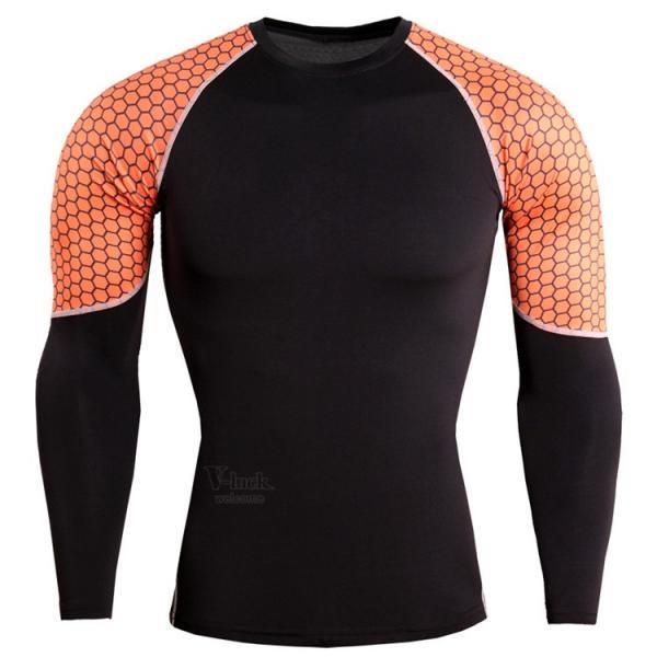 レーシングシャツ 加圧シャツ メンズ 加圧インナー コンプレッションウェア インナーシャツ アンダーシャツ ジャージ 速乾吸汗 otasukemann 18
