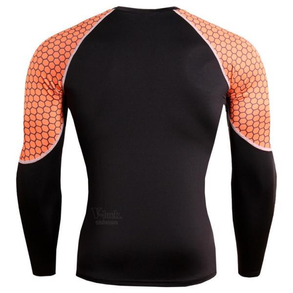 レーシングシャツ 加圧シャツ メンズ 加圧インナー コンプレッションウェア インナーシャツ アンダーシャツ ジャージ 速乾吸汗 otasukemann 20