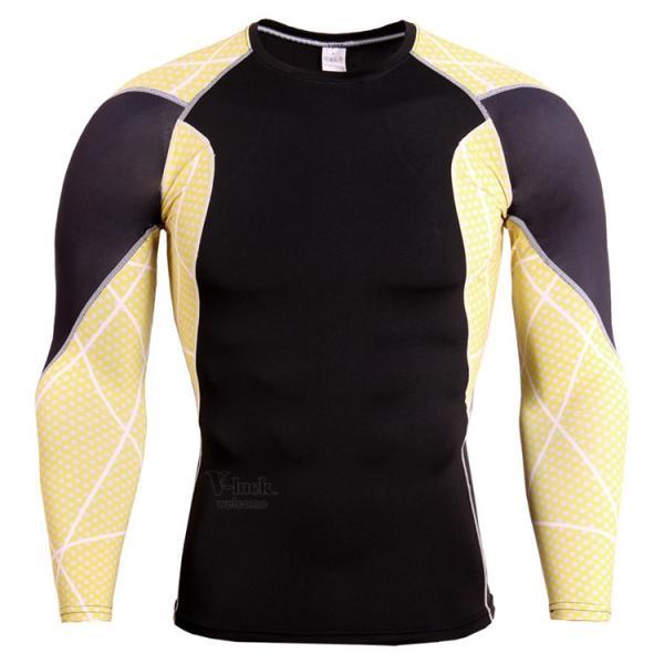 レーシングシャツ 加圧シャツ メンズ 加圧インナー コンプレッションウェア インナーシャツ アンダーシャツ ジャージ 速乾吸汗 otasukemann 06