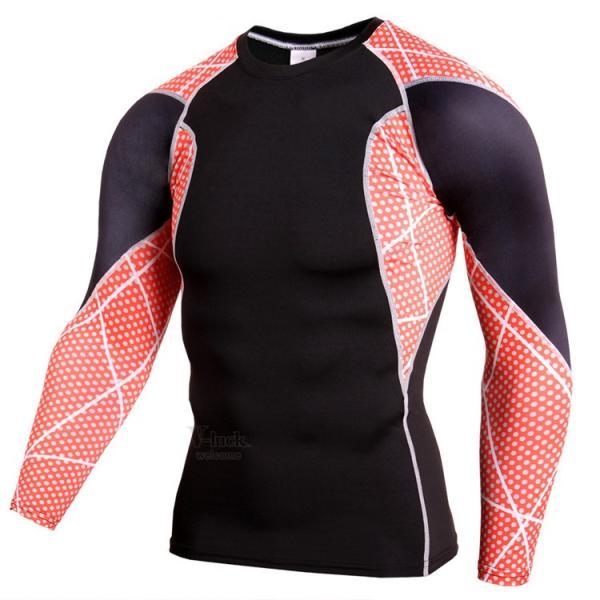 レーシングシャツ 加圧シャツ メンズ 加圧インナー コンプレッションウェア インナーシャツ アンダーシャツ ジャージ 速乾吸汗 otasukemann 10