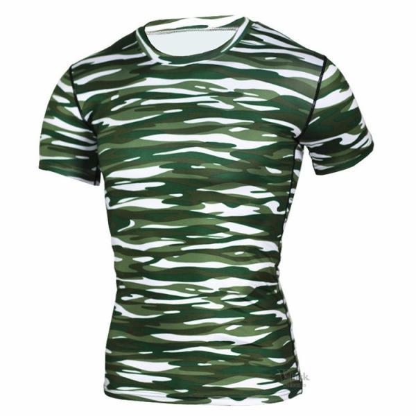 レーシングシャツ フィットネスウェア メンズ Tシャツ 半袖 コンプレッションウェア トップス 加圧シャツ アンダーシャツ トレーニング 吸汗速乾|otasukemann|13