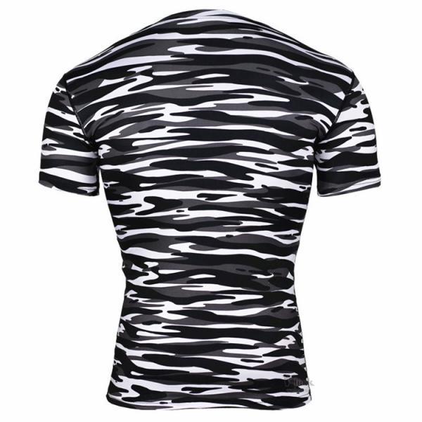 レーシングシャツ フィットネスウェア メンズ Tシャツ 半袖 コンプレッションウェア トップス 加圧シャツ アンダーシャツ トレーニング 吸汗速乾|otasukemann|18