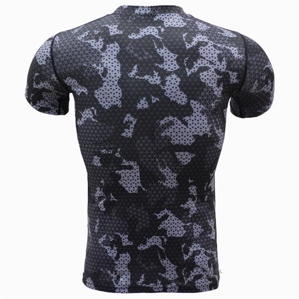 レーシングシャツ フィットネスウェア メンズ Tシャツ 半袖 コンプレッションウェア トップス 加圧シャツ アンダーシャツ トレーニング 吸汗速乾|otasukemann|10