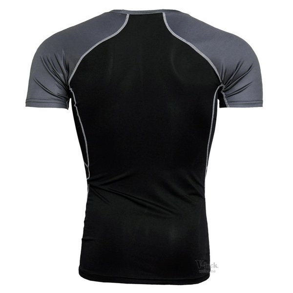 コンプレッションウェア メンズ アンダーシャツ 加圧シャツ 半袖 フィットネスウェア Tシャツ トレーニング レーシングシャツ 吸汗速乾 otasukemann 05