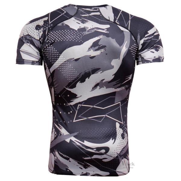 コンプレッションウェア メンズ アンダーシャツ 加圧シャツ 半袖 フィットネスウェア Tシャツ トレーニング レーシングシャツ 吸汗速乾 otasukemann 08