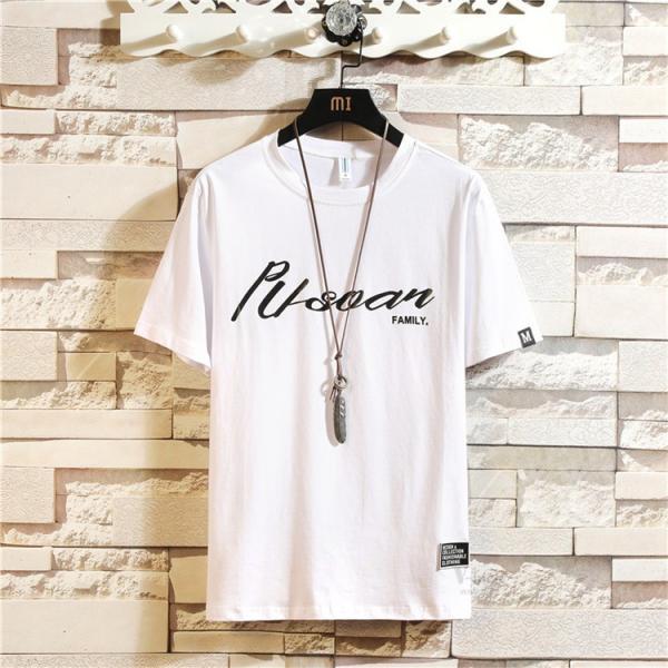夏服 Tシャツ メンズ 半袖Tシャツ プリント カジュアル ルームウェア 部屋着 お兄系 ティーシャツ おしゃれ|otasukemann|05