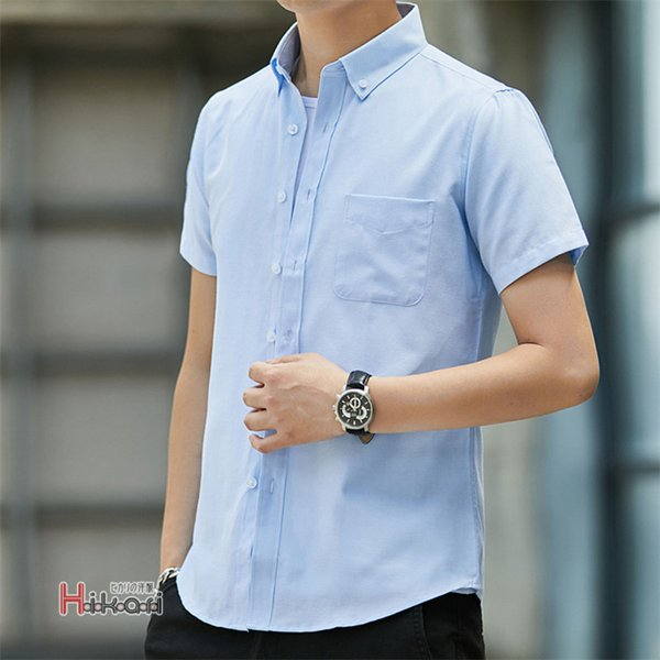 半袖シャツ メンズ ワイシャツ カジュアルシャツ 開襟シャツ 40代 50代 部屋着 無地シャツ 夏服 細身 お兄系 シャツ 夏|otasukemann|07