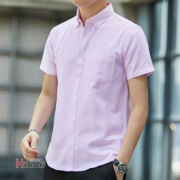 半袖シャツ メンズ ワイシャツ カジュアルシャツ 開襟シャツ 40代 50代 部屋着 無地シャツ 夏服 細身 お兄系 シャツ 夏|otasukemann|10