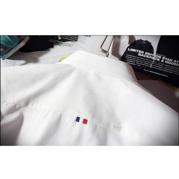 スリムシャツ 半袖シャツ メンズ ボダンダウンシャツ 開襟シャツ トップス カジュアルシャツ トップス 夏服 サマー 部屋着|otasukemann|15