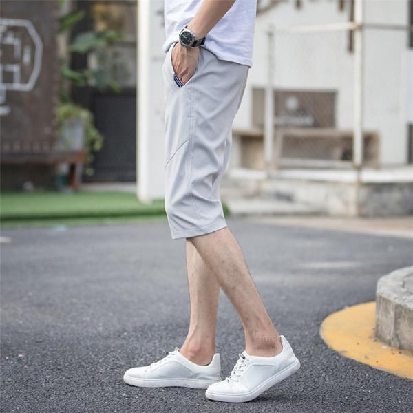 クロップドパンツ メンズ ジョガーパンツ ズボン テーパード ハーフパンツ カジュアル ショートパンツ 七分丈 ボトムス 夏|otasukemann|10