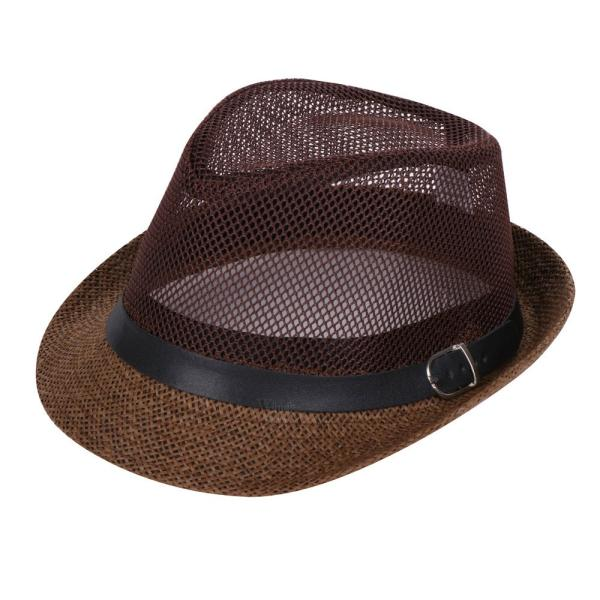 ストローハット 帽子 メンズ ハット 麦わら帽子 UVカット 日よけ帽子 紫外線対策 夏用帽子 おしゃれ 夏 otasukemann 04
