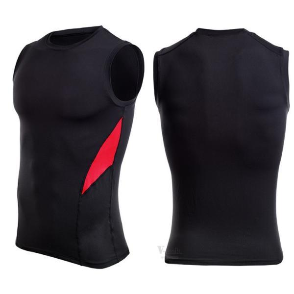 加圧シャツ コンプレッションウェア メンズ アンダーシャツ タンクトップ 加圧インナー 半袖Tシャツ ノースリーブ おしゃれ 吸汗速乾 夏 otasukemann 08
