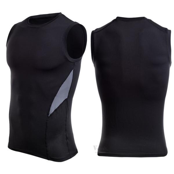 加圧シャツ コンプレッションウェア メンズ アンダーシャツ タンクトップ 加圧インナー 半袖Tシャツ ノースリーブ おしゃれ 吸汗速乾 夏 otasukemann 09