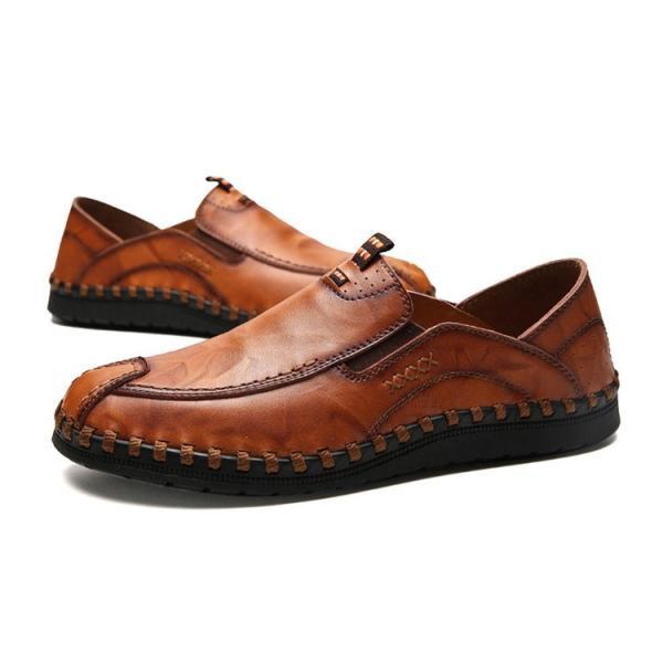 ローファーシューズ メンズ 紳士靴 スリッポン モカシン コンフォートシューズ 靴 リラックス オシャレ ドライビングシューズ リゾート 春夏|otasukemann|12