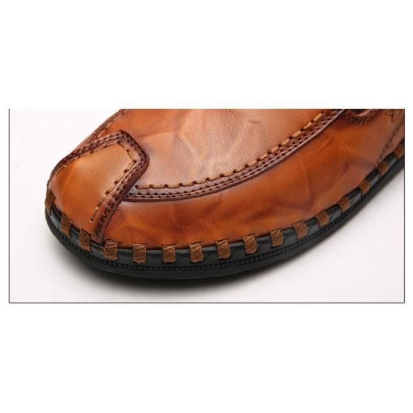 ローファーシューズ メンズ 紳士靴 スリッポン モカシン コンフォートシューズ 靴 リラックス オシャレ ドライビングシューズ リゾート 春夏|otasukemann|14
