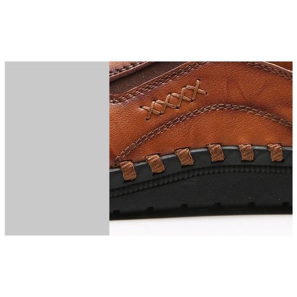 ローファーシューズ メンズ 紳士靴 スリッポン モカシン コンフォートシューズ 靴 リラックス オシャレ ドライビングシューズ リゾート 春夏|otasukemann|15