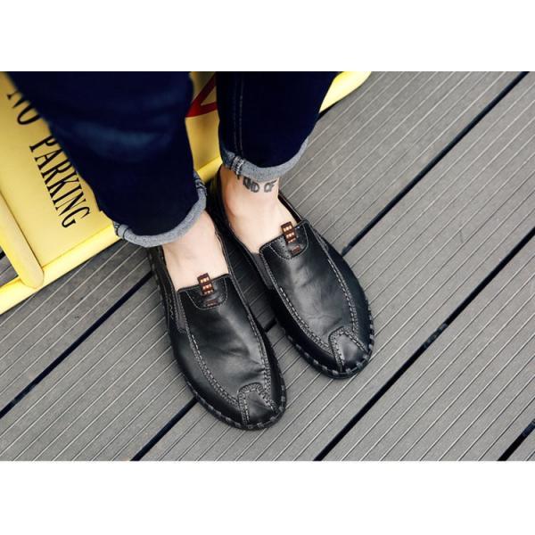 ローファーシューズ メンズ 紳士靴 スリッポン モカシン コンフォートシューズ 靴 リラックス オシャレ ドライビングシューズ リゾート 春夏|otasukemann|05