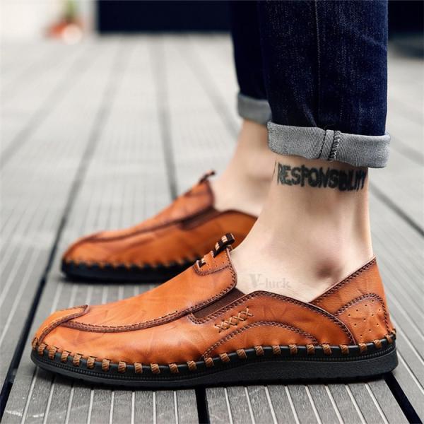 ローファーシューズ メンズ 紳士靴 スリッポン モカシン コンフォートシューズ 靴 リラックス オシャレ ドライビングシューズ リゾート 春夏|otasukemann|08