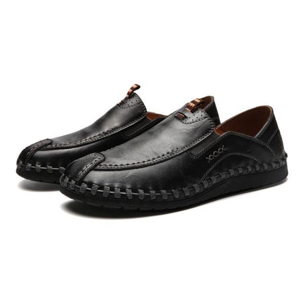 ローファーシューズ メンズ 紳士靴 スリッポン モカシン コンフォートシューズ 靴 リラックス オシャレ ドライビングシューズ リゾート 春夏|otasukemann|09