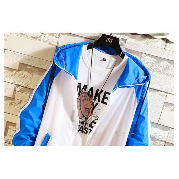 ジャケット メンズ UVカットパーカー マウンテンパーカー 薄手ジャケット ウィンドブレーカー アウトドア おしゃれ otasukemann 09
