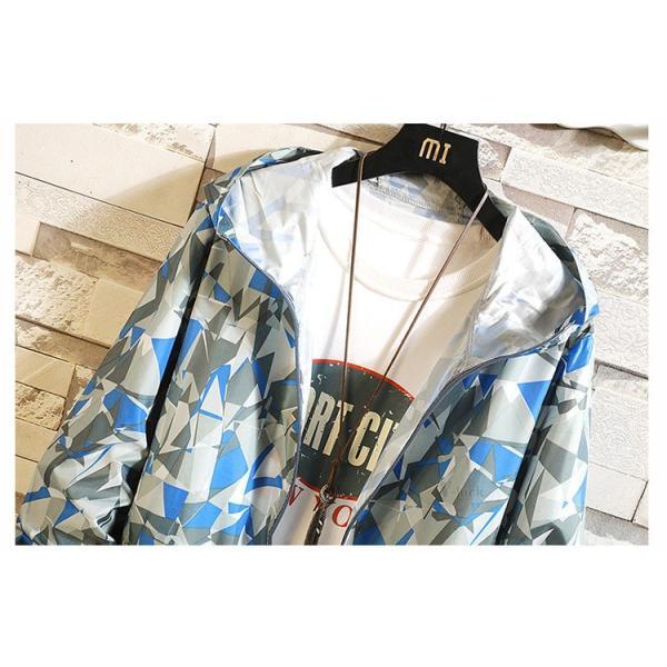 UVカット ウィンドブレーカー メンズ マウンテンパーカー ジャケット 薄手 シップジャケット パーカー 春夏秋 おしゃれ|otasukemann|12