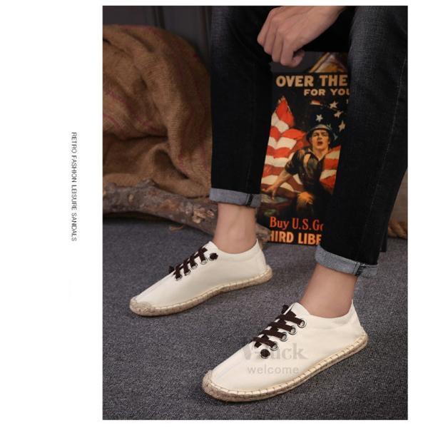 エスパドリーユ メンズ レディース シューズ カジュアルシューズ デッキシューズ スリッポン サンダル おしゃれ 靴|otasukemann|16