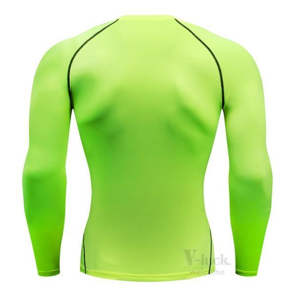 加圧シャツ メンズ アンダーシャツ Tシャツ 加圧インナー コンプレッションウェア 長袖 2019新作|otasukemann|11