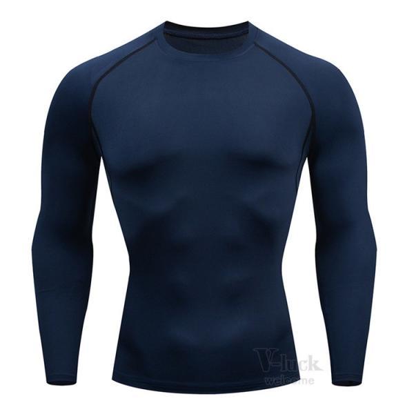 加圧シャツ メンズ アンダーシャツ Tシャツ 加圧インナー コンプレッションウェア 長袖 2019新作|otasukemann|14