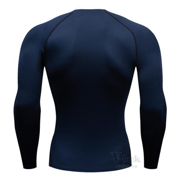 加圧シャツ メンズ アンダーシャツ Tシャツ 加圧インナー コンプレッションウェア 長袖 2019新作|otasukemann|15