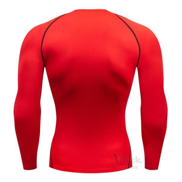 加圧シャツ メンズ アンダーシャツ Tシャツ 加圧インナー コンプレッションウェア 長袖 2019新作|otasukemann|17