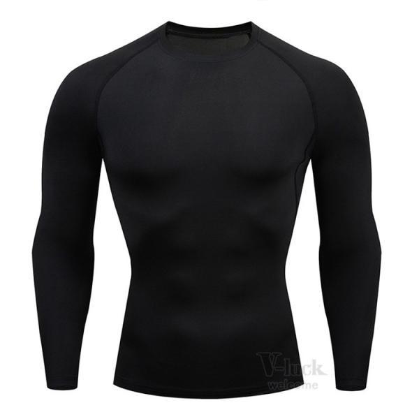 加圧シャツ メンズ アンダーシャツ Tシャツ 加圧インナー コンプレッションウェア 長袖 2019新作|otasukemann|04