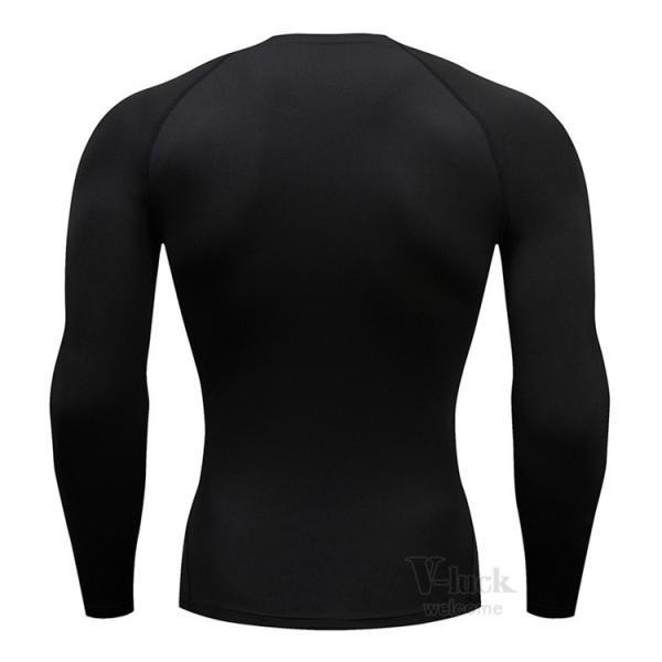 加圧シャツ メンズ アンダーシャツ Tシャツ 加圧インナー コンプレッションウェア 長袖 2019新作|otasukemann|05