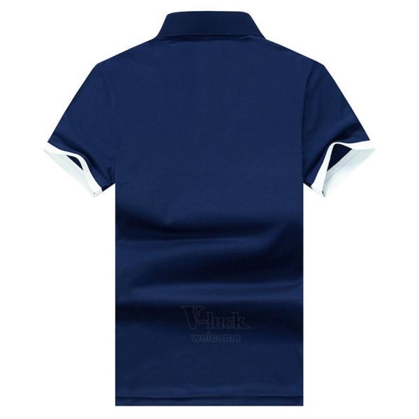 半袖ポロシャツ メンズ おしゃれ 無地 シャツ 半袖 ポロシャツ ゴルフウェア トップス POLOシャツ カジュアル 春夏 otasukemann 13