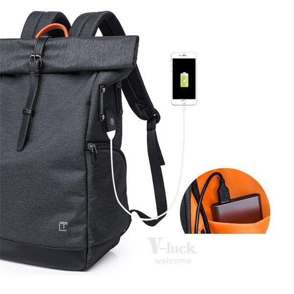 リュック メンズ リュックサック ビジネスリュック バッグ USB 充電 大容量 防水 通学 スポーツ 登山 通勤 旅行 出張 otasukemann 15