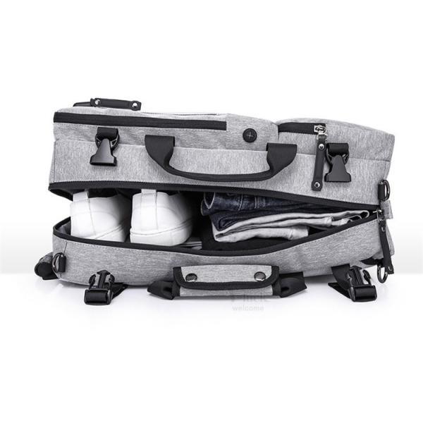 ビジネスリュック メンズ ショルダーバッグ リュックサック 3way バックパック デイパック キャリーケース 大容量|otasukemann|14