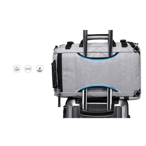 ビジネスリュック メンズ ショルダーバッグ リュックサック 3way バックパック デイパック キャリーケース 大容量|otasukemann|09