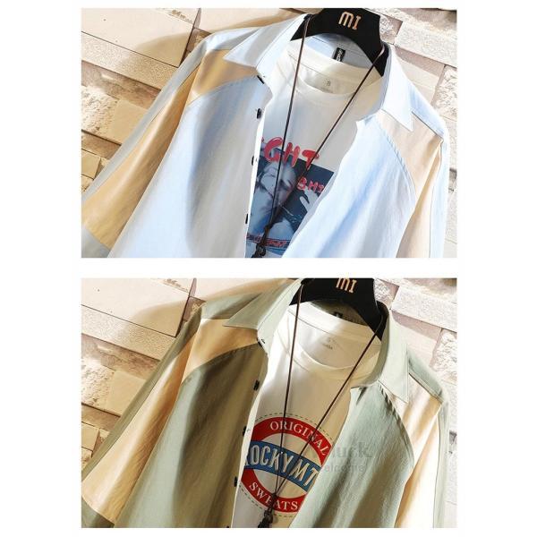 ワークシャツ 半袖 メンズ カジュアルシャツ 開襟シャツ 七分袖 トップス 半袖シャツ おしゃれ 40代 50代 夏 新作|otasukemann|09