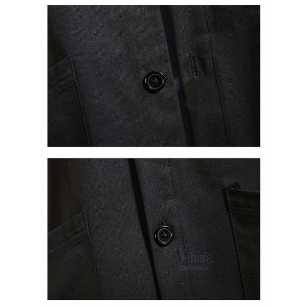 ワークシャツ 半袖 メンズ カジュアルシャツ 開襟シャツ 七分袖 トップス 半袖シャツ おしゃれ 40代 50代 夏 新作|otasukemann|10