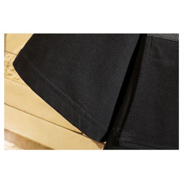 Tシャツ メンズ 半袖 トップス 切り替え カットソー ティーシャツ 半袖Tシャツ カジュアル おしゃれ 夏新作|otasukemann|12