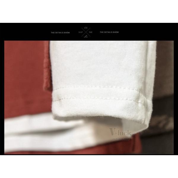 Tシャツ メンズ 半袖 アメカジ カレッジ クルーネック カットソー カジュアル ティーシャツ ファッション 夏 送料無料 otasukemann 15
