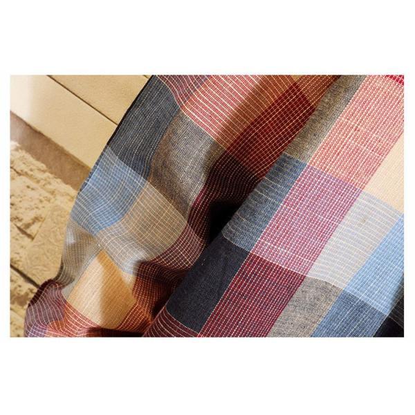 カジュアルシャツ メンズ チェックシャツ 長袖シャツ ビジネス 通勤 スリム メンズファッション 開襟 春秋 otasukemann 11