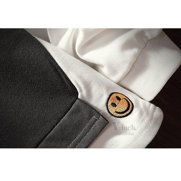 トレーナー メンズ トップス 長袖 Tシャツ ルームウェア フェイクレイヤード クルーネック スウェット 秋服 春物|otasukemann|14